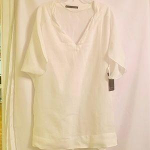 Linen tunic shirt /blouse from Zara